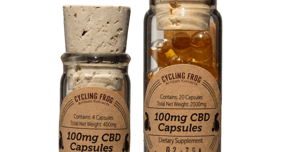 Cycling Frog 100mg Capsules