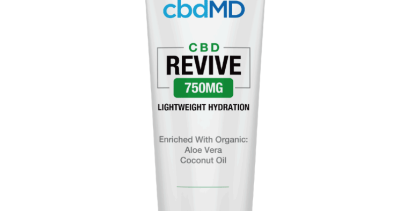 750mg Revive Moisturizing Topical 4oz by cbdMD