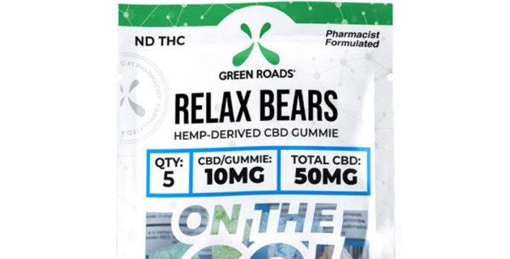 Relax Bears On-The-Go Gummies - Green Roads
