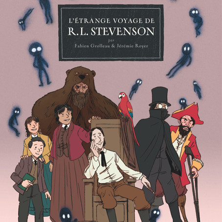 ♥ L'étrange voyage de R.L. Stevenson