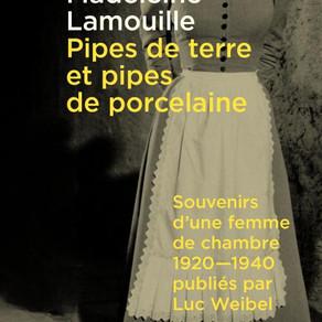 ♥ Pipes de terre et pipes de porcelaine : souvenirs d'une femme de chambre 1920-1940