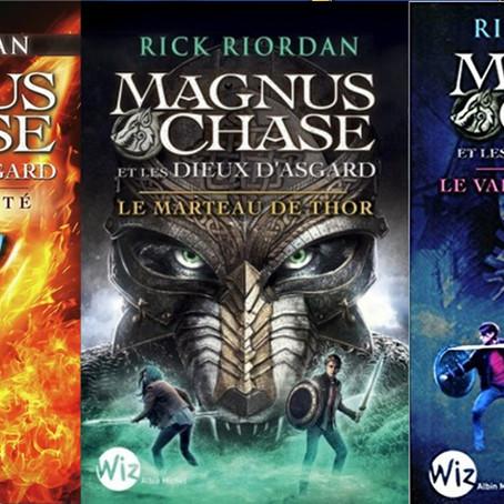 ♥ Magnus Chase et les Dieux d'Asgard