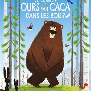 ♥ Est-ce qu'un ours fait caca dans les bois?