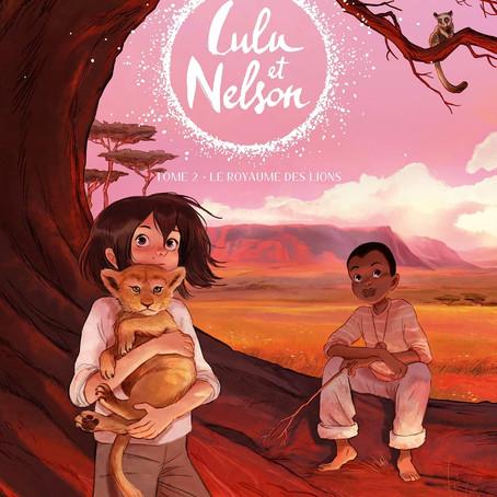 ♥ Lulu et Nelson, tome 2 : Le royaume des lions