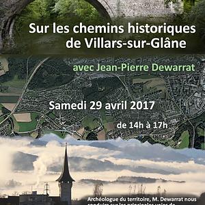 Sur les chemins historiques de Villars-sur-Glâne