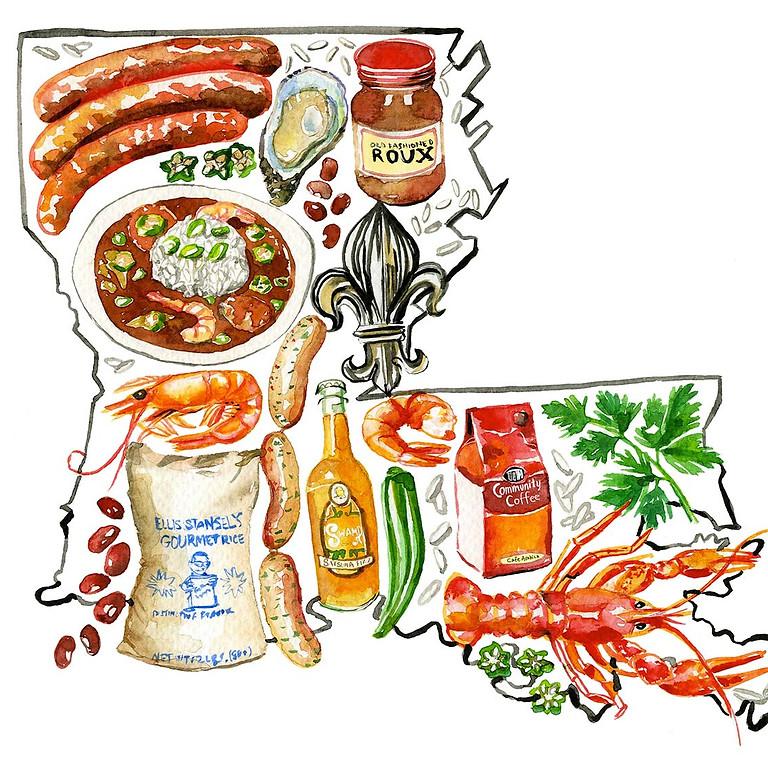All Saints' Sunday Supper: Louisiana Favorites