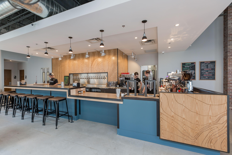 Coffee Shark Steam Punk Counter