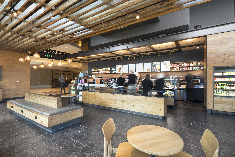 Starbucks at the Hilton Austin