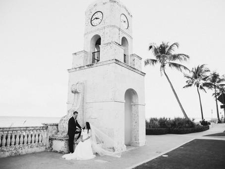 The Chesterfield Palm Beach | Black & White Wedding | Ariella & Michael