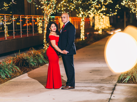 Yanexi + Luis Engagement Session | Downtown Miami Florida Photographer