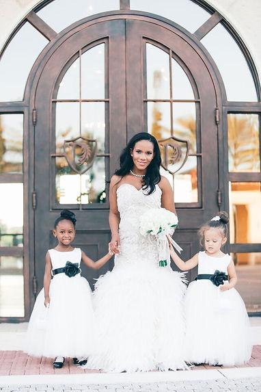 bride on her wedding