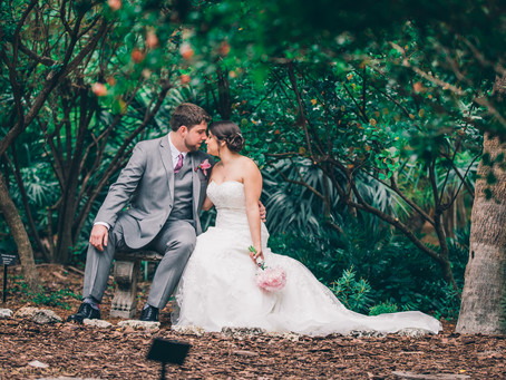 Miami Beach Botanical Garden Wedding | Diana & Robert