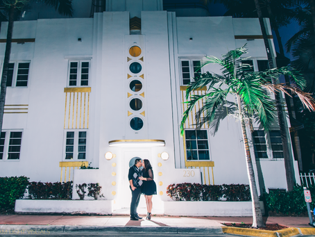 Mayte + Edwin Engagement Session | South Pointe Park | South Beach, Miami