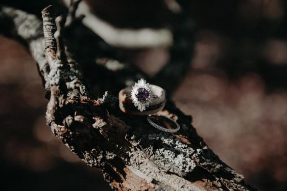 Nontraditonal Wedding Ring