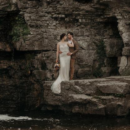 France Park Quarry Bridal Session