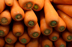 Carrots topped