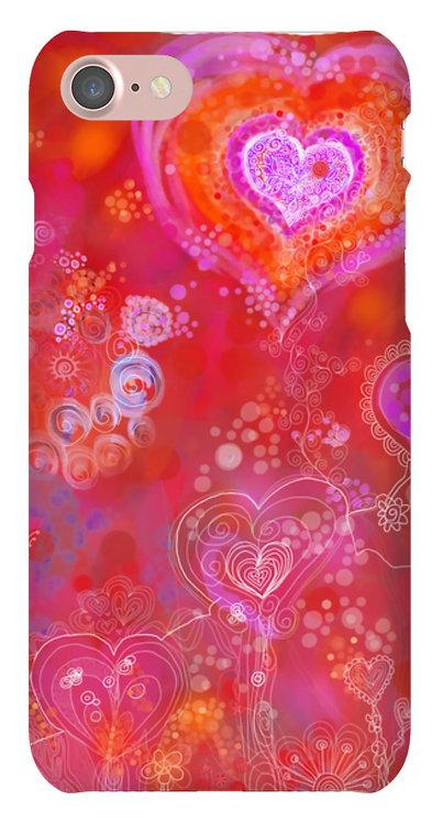 Mobile Case 'Glück ist Liebe'