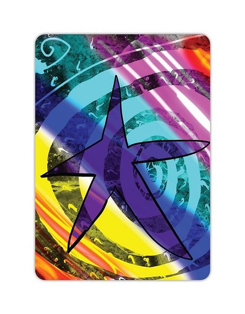 Postkarte Stern von L!LA