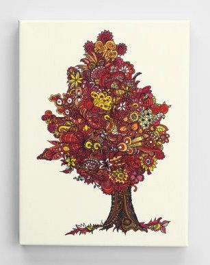 Jahresbaum-Herbst