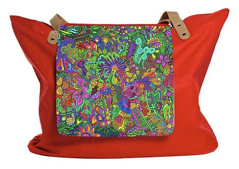 'Urwald'-Klappe für Shopping Bag