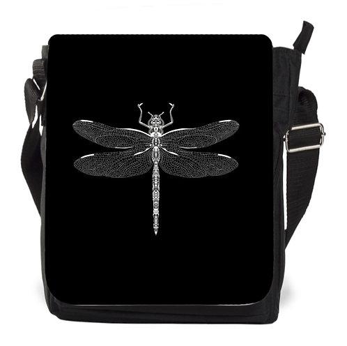 Libellen-Tasche schwarz
