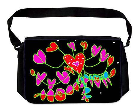 Herzblumen-Tasche
