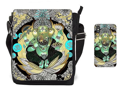 Ganesha-Tasche und Mobile Case