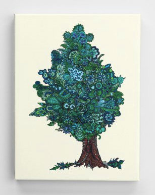 Jahresbaum - Sommer