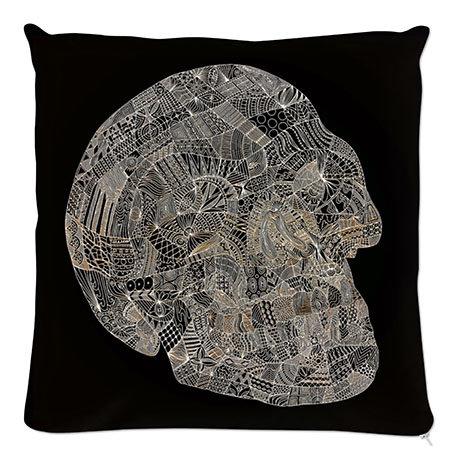 Kissen Skull
