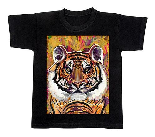 T-Shirt Tiger für Kinder