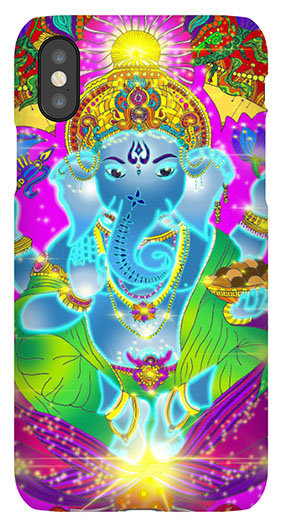 Mobile Case Ganesha bunt