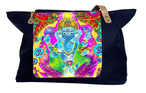 'Ganesha'-Klappe für Shopping Bag