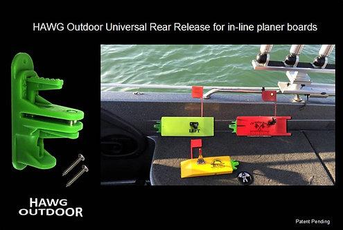 HAWG Outdoor planer board Universal Rear Release - 2 PACK