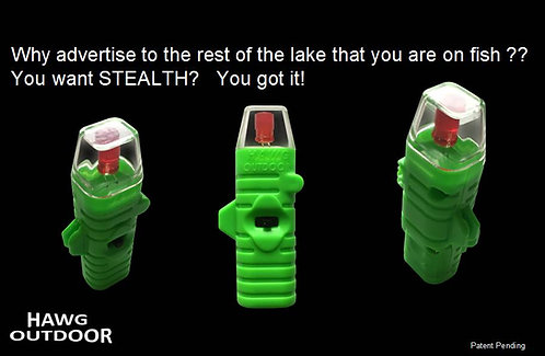 HAWG Outdoor STEALTH tip-up light - 3 PACK