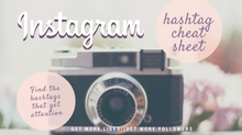The Ultimate Instagram Hashtag Cheat Sheet