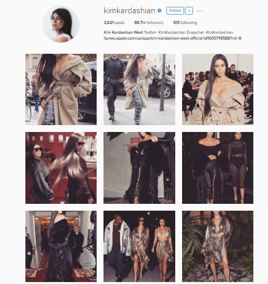 Instagram Tips from Kim Kardashian