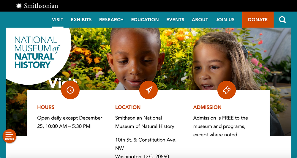 National Museum of Natural History Homepage