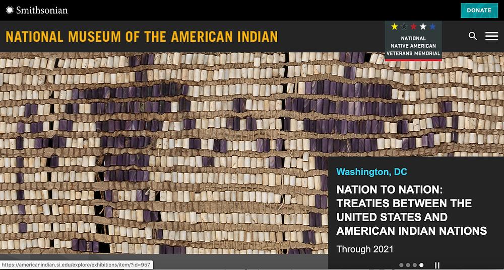 Homepage of NMAI