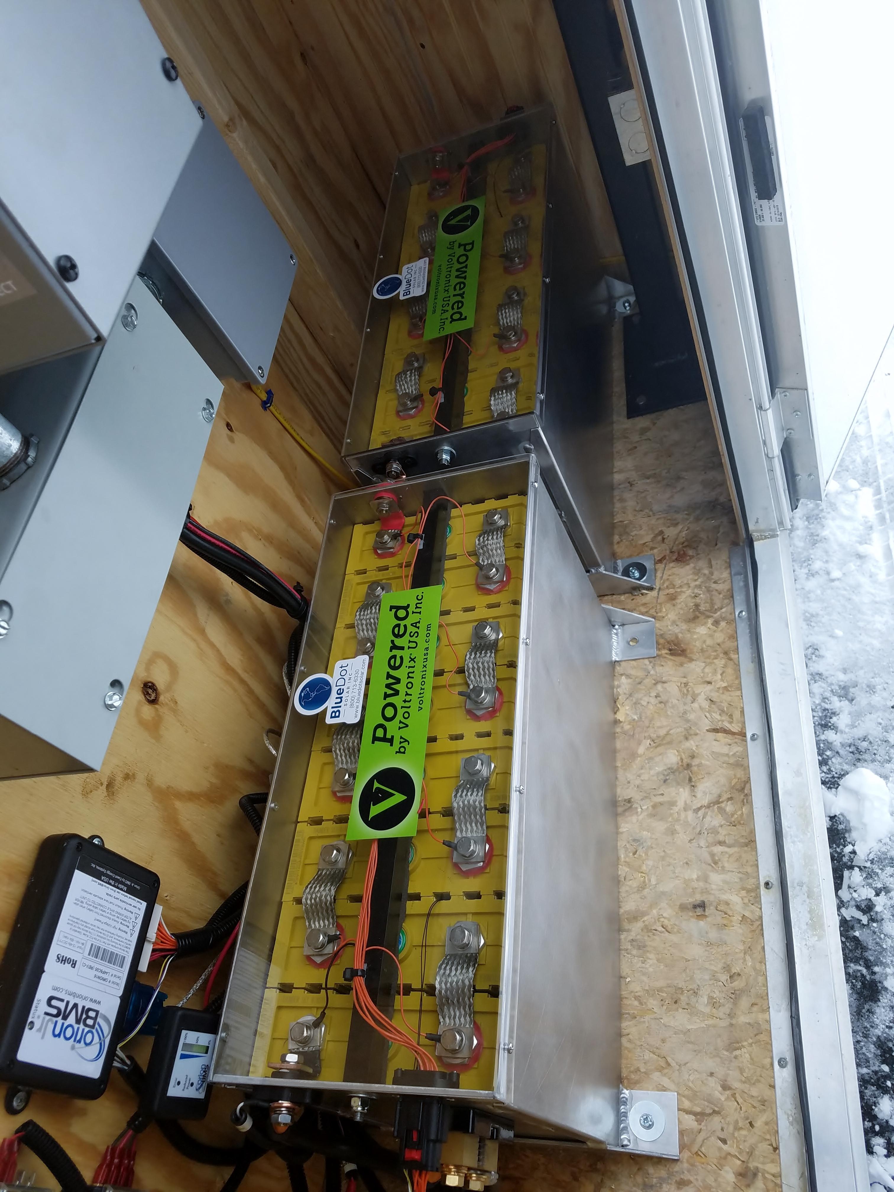 BDS Mobile Generator Storage Cells