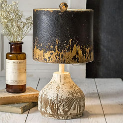 Wood_Base_Tabletop_Lamp_with_Metal_Shade