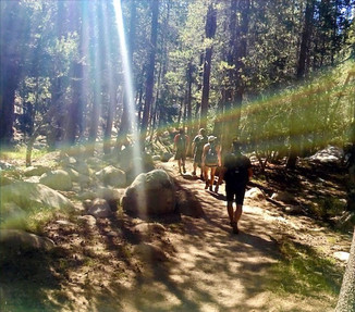 Setting off to Cloud's Rest at Yosemite National Park. Welcome Kevin R. & family!