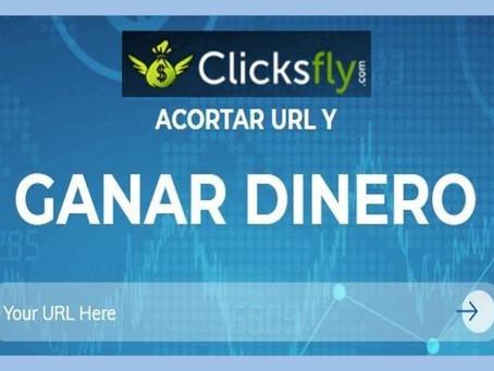 ClicksFly: Página para acortar URL