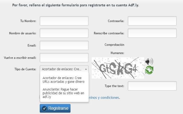 registro Adfly