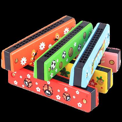 Wooden Harmonica