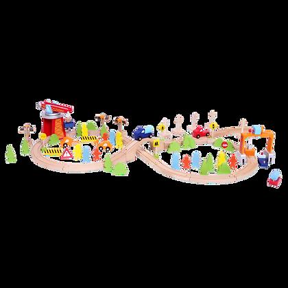 Wooden Train Set(75pcs)