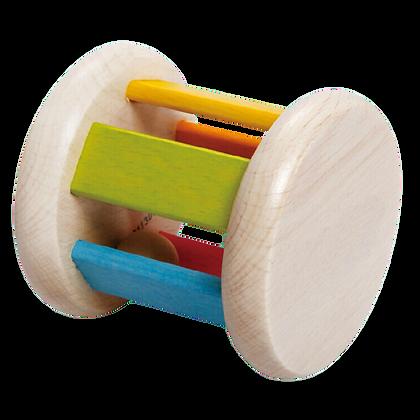 Wooden Roller Rattle