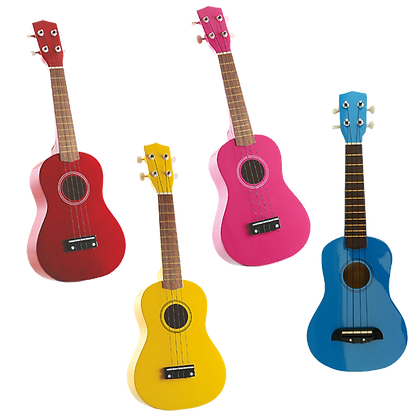 """23""""Colourful Wooden Guitar"""