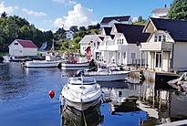 Villa Skansen,airbnb Austevoll