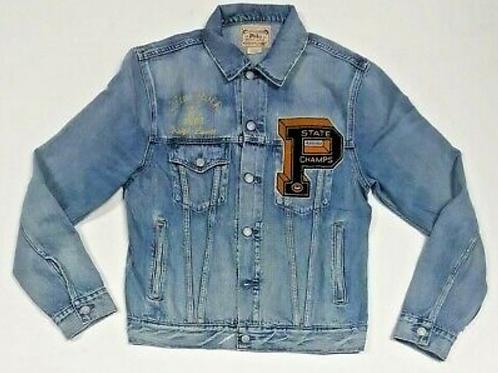 Polo Ralph Lauren Men's RL Varsity Tigers P New York Denim Jacket