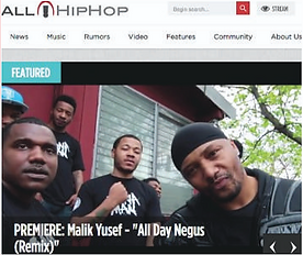 Malik Yusef All Day Negus Remix All HipHop